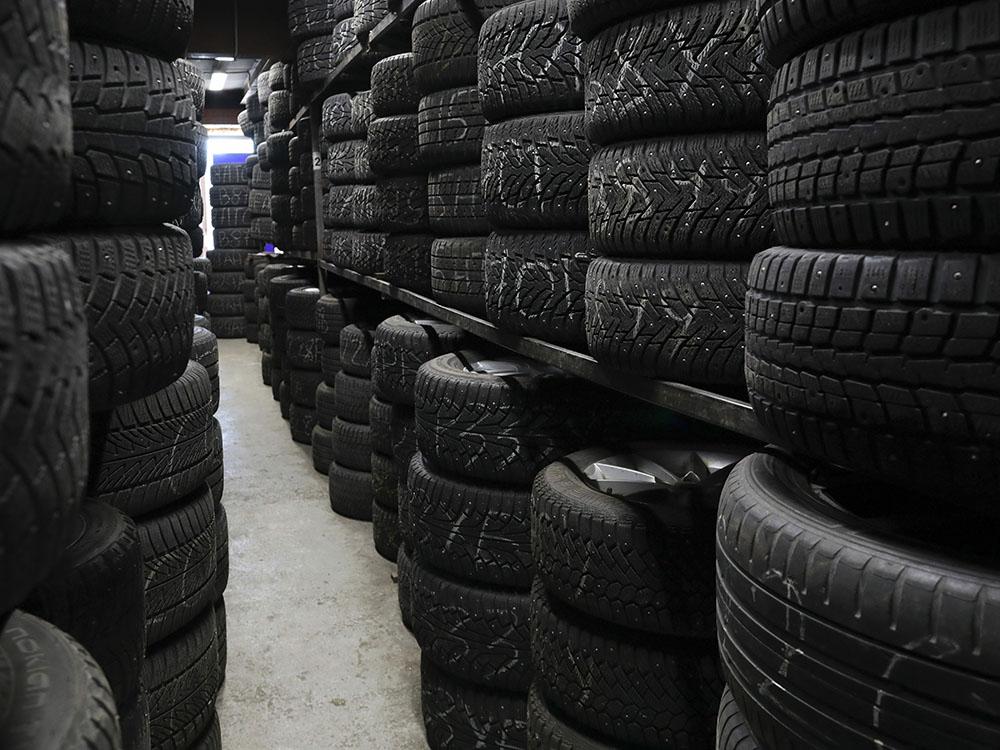 Правильное хранение колёс