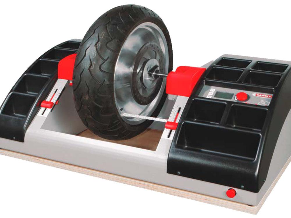 Балансировка мото колёс