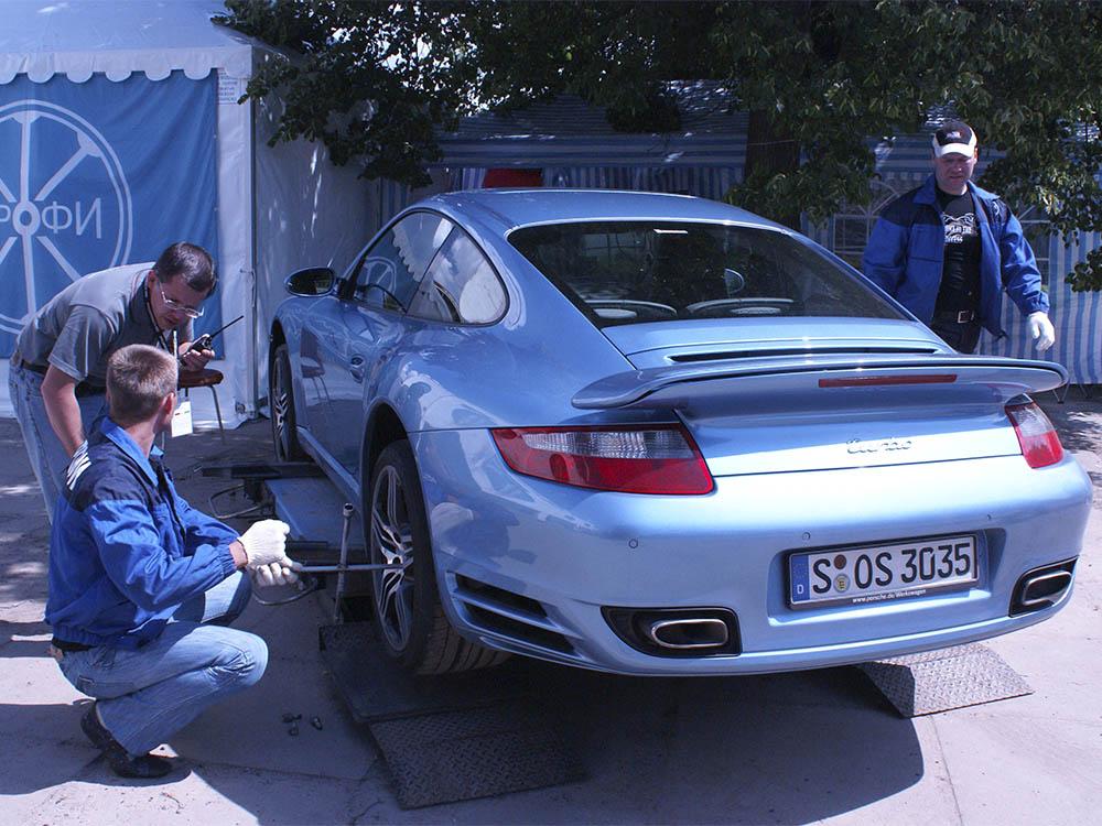 Шиномонтаж Porsche