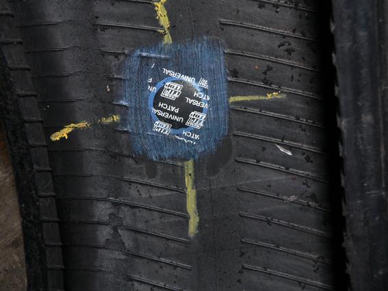 Заплатка в шине