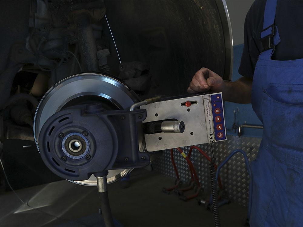 Проточка тормозных дисков без снятия с машины