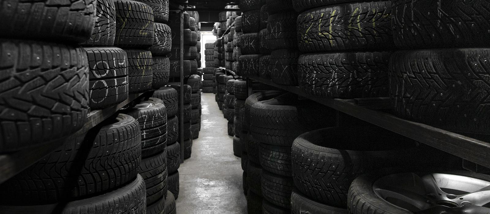 Сезонное хранение колёс цена